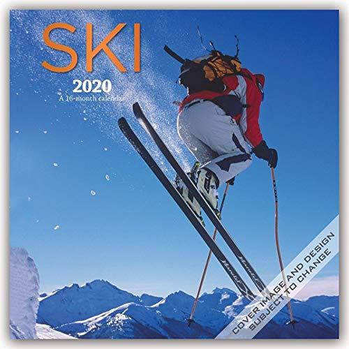 Ski - Skifahren 2020 - 16-Monatskalender: Original BrownTrout/Wyman Publishing-Kalender [Mehrsprachig] [Kalender] por Browntrout Publishing