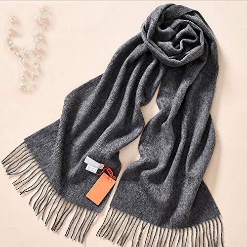 e Infinity Schal-Lightweight Pashmina Blanket Schal Pure Color-Soft und Warm Winter Geschenk für die Dame (Farbe : Style C) ()