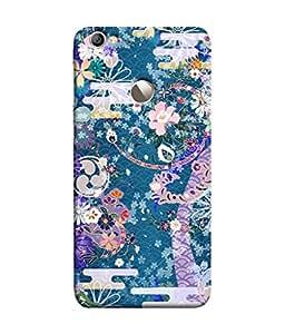 Fuson Designer Back Case Cover for LeEco Le 1s :: LeEco Le 1s Eco :: LeTV 1S (Floral pattern :: Flowering design :: Beautiful flowers design :: Multicolor flowers design :: Wonderful flower design)
