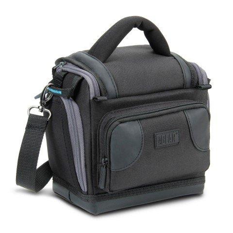 Galleria fotografica USA Gear Custodia Borsa Portatile per Fotocamera Digitale SLR con Laccio da Spalla Funziona con Fujifilm / Canon EOS 1300D , 100D / Nikon D3300 e altri