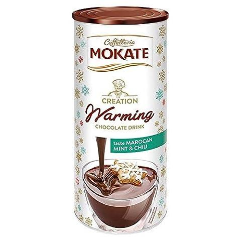 Mokate Morrocan Minze & Chili Heiße Schokolade 200G (Packung mit 4)