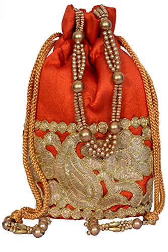 Craft Trade Ethnic Rajasthani Potli Bag For Women