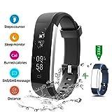 Fitness Tracker, CHEREEKI IP67 Impermeabile Orologio Smartwatch Sleep Monitor...