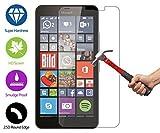 ZeWoo Display Glas Panzerfolie für Microsoft Lumia 640 XL/Lumia 640 XL Dual-SIM (5,7 Zoll) Glasfolie Hartglas Schutzfolie 9H *2.5D, nur 0,33mm dünn