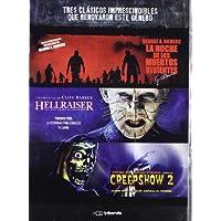 Pack: La Noche De Los Muertos Vivientes + Hellraiser + Creepshow 2