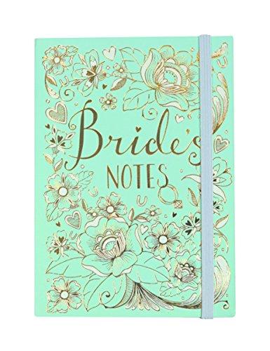 Rachel Ellen, Bride's Notes, taccuino Formato A6 da trasportare in Borsa,Colore 'Duck Egg Blue', Multicolore (Lingua Italiana Non Garantita)