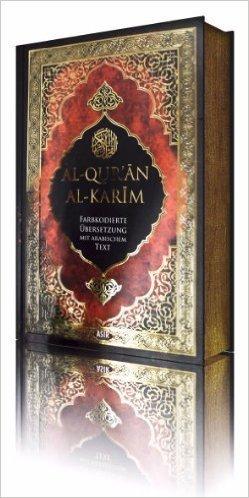 Produktbild Al-Qur'an al-Karim - Farbkodierte Übersetzung mit arabischem Text