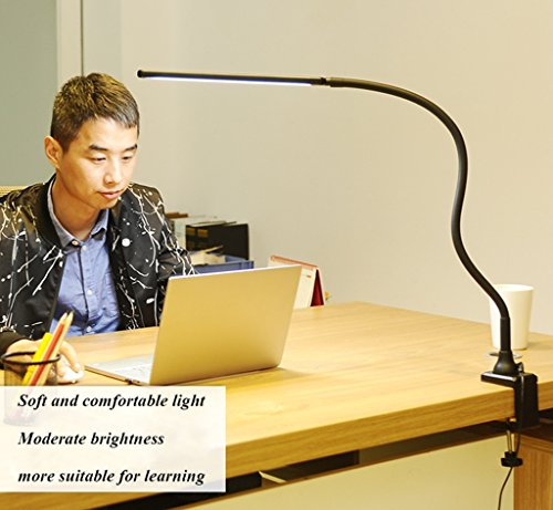 Clip-on Clip Augenschutz Schreibtischlampe Kinder Arbeitszimmer Arbeitstischlampe