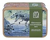 Dinosaur excavation set - Gift in a Tin