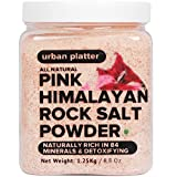 #9: Urban Platter Pink Himalayan Rock Salt Powder Jar, 1.25kg