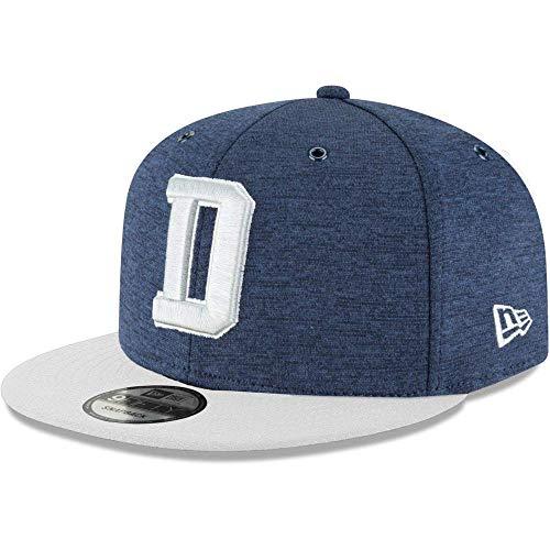 New Era NFL Dallas Cowboys Authentic 2018 Sideline 9FIFTY Snapback Home Cap, Größe :M/L -