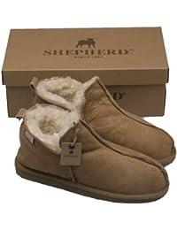 919a2315cc46 Amazon.fr   Cuir - Chaussons   Chaussures femme   Chaussures et Sacs