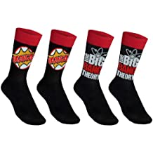 The Big Bang Theory - 2 pares de calcetines de vestir oficiales - Para hombre -