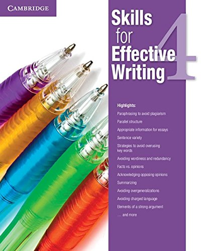 Skills for Effective Writing Level 4 Student's Book por Sin autor