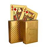 #9: LOF Poker 24K Gold Playing Card For Diwali Set of 2 pack