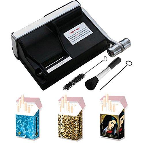 Powermatic 1 Plus Elite Zigarettenstopfmaschine inkl. 3 Zigarettenschachtel-Hüllen Stopfmaschine der Extraklasse Zubehör - Powermatic I Zigarettenstopfer/Zigarettenmaschine