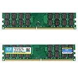 Speicher RAM - Xiede 2 x 4GB DDR2 800MHz PC2-6400 240 Pin Desktop Speicher RAM AMD-Chips