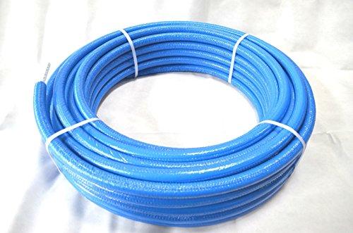 Aluverbundrohr 16 x 2 mm mit 6 mm Isolierung blau PEXB/AL/PEXB DVGW - 50 m Rolle