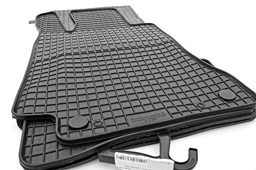 kh Teile Gummimatten Mercedes C-Klasse W205 S205 ab 2014 Original Qualität Gummi Fußmatten 4-teilig schwarz