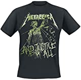 Metallica ... And Justice For All - Vintage T-shirt noir M