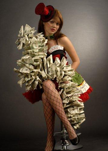 Fancy Dress Casino Geld Boa ()