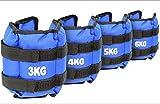 TekBox® Wrist Ankle Weights Bracelets Straps For Resistance Strength Training Exercise Gym (2 x 3kg = 6kg)