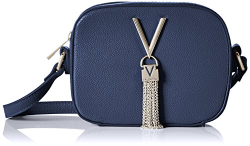 86bcfba63d336 Mario Valentino Valentino by Divina Mujer Bolsos bandolera Azul (Blu)  6x13x17 cm (B