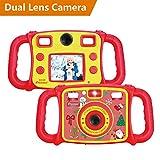 Best Amis Vidéos instantanée - DROGRACE Caméra Enfants Double Selfie Caméras HD 1080p Review