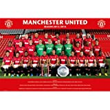 GB eye 61 x 91.5 cm Manchester United Team Photo 13/ 14 Maxi Poster, Assorted