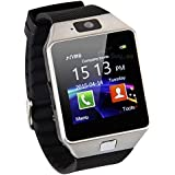 Piqancy Dz09 Camera,Touch Screen, Bluetooth, Support SIM Card, SD Card Smartwatch, (Black)