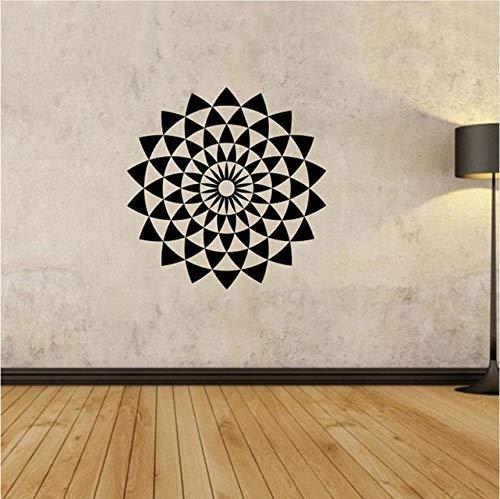 Lovemq Geometrische Wandtattoos Klebstoff Aufkleber Wasserdicht Art Vinyl Aufkleber Wohnkultur Wohnzimmer Wandaufkleber 57X57 Cm