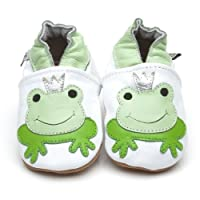 Soft Leather Baby Shoes Prince Frog 6-12 Months