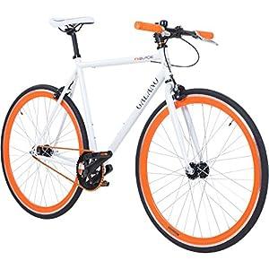 Galano 700C 28 Zoll Fixie Singlespeed Bike Blade 5 Farben zur Auswahl,...