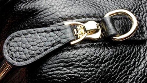 ZPFME Borse Donna Moda Pelle Borsa A Tracolla Borse Da Donna Ragazze Party Retro Signore Moda Black