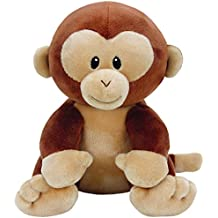 TY - Beanie Babies Bananas, Peluche Mono, 23 cm (United Labels Ibérica 82003TY