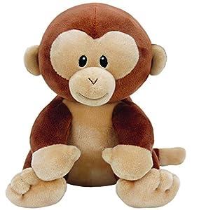 TY - Beanie Babies Bananas, Peluche Mono, 23 cm (United Labels Ibérica 82003TY)