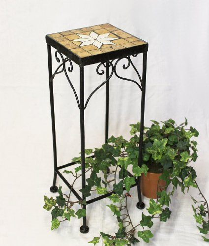Stool Merano Mosaic 12012 Flower stand 46 Stool square Side table