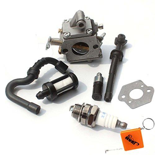 HURI Ersetzt Vergaser passend für STIHL MS170 MS180 017 018 Motorsäge Zama C1Q-S57B