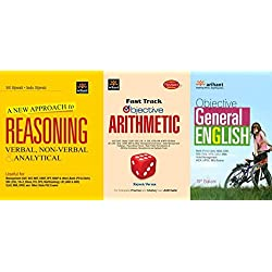A New Approach to REASONING Verbal & Non-Verbal with Objective General English & Fast Track Objective Arithmetic ArihantLatest Edition