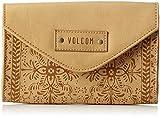 Volcom Dezert Mist Wallet, Portefeuilles femme, Braun (Vintage Brown), 3x13x19 cm (B x H T)