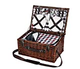 Cilio 155259Varese picnic basket for 4people