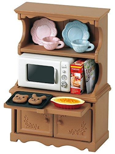 Preisvergleich Produktbild Sylvanian Families 3561 - Geschirrschrank mit Mikrowelle