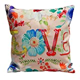 Air Castle- Home Decore- Polyester & Polyester Blend- Love Cushion Cover best price on Amazon @ Rs. 706