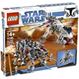 LEGO - 10195 - Jeu de construction - Star Wars - Republic Dropship with AT-OT Walker