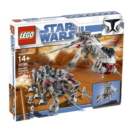 LEGO Star Wars 10195 - Republic Dropship mit at-OT Walker -