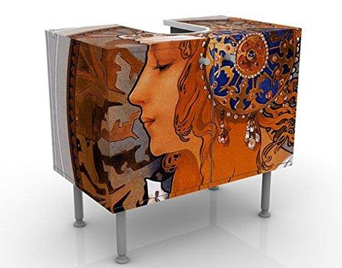 Apalis 53972 Waschbeckenunterschrank Loren, 60 x 55 x 35 cm