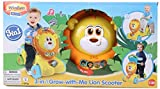 Winfun 3 in 1 Lion Ride On Scooter, Yellow/Blue