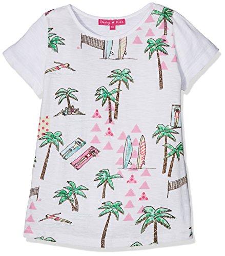 Derhy Aimee, T-Shirt Bambina, Bianco (Blanc), 10-12 Anni (Taglia Produttore: 10-12 Anni)