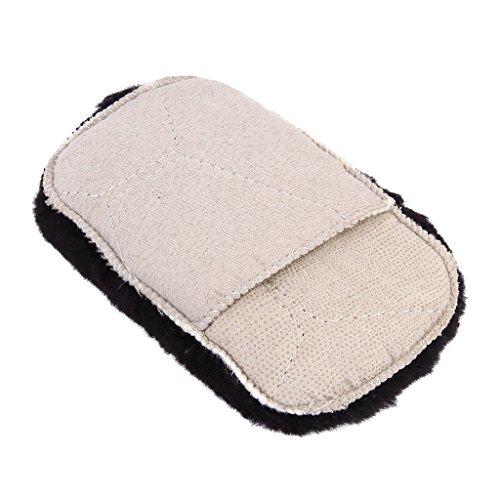 TOOGOO(R) Gant de Nettoyage Brosse a Chaussures a Polir Entretien des Chaussures - Couleur Aleatoire