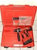 HILTI UH 240 - A Akkubohrhammer / Bohrschrauber mit 3 - Gang Getriebe, 13mm Bohrfutter, geprüft ist vol funktionsfähig mit funktionsfähigen Akku und Handbuch im original Hilti Koffer, guter Zustand